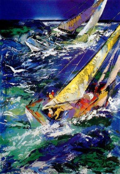 High Seas Sailing II 1995 Limited Edition Print by LeRoy Neiman