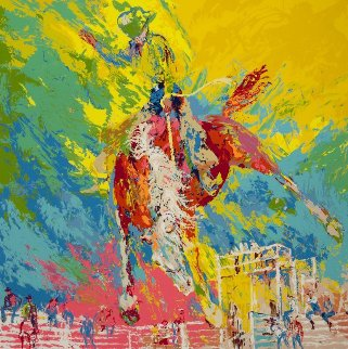 Bucking Bronc 1977 Limited Edition Print by LeRoy Neiman