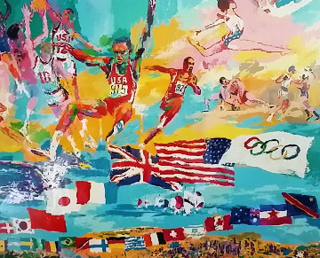 American Gold 1984 Limited Edition Print - LeRoy Neiman