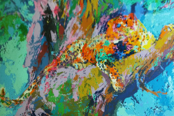 Leopard 1972 Limited Edition Print by LeRoy Neiman