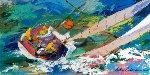 Yawl Sailing AP 2001 Limited Edition Print - LeRoy Neiman