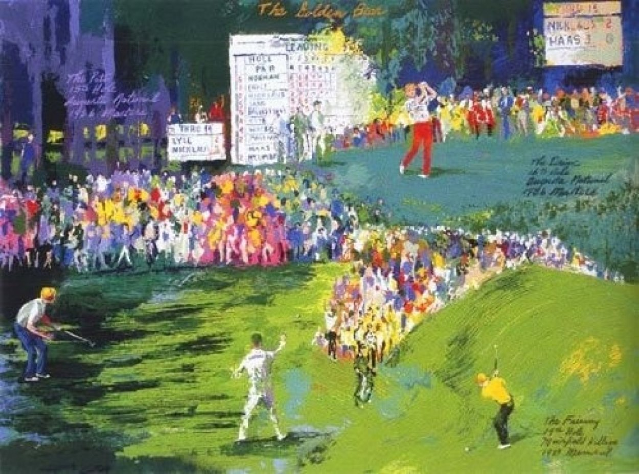Golden Bear 1989 Limited Edition Print by LeRoy Neiman