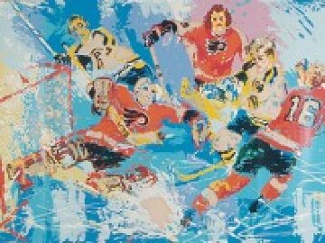 Philadelphia Flyers 1974 Limited Edition Print - LeRoy Neiman