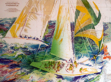 America's Cup - Australia 1986 Limited Edition Print by LeRoy Neiman