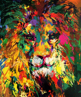 Portrait of the Lion 2002 Limited Edition Print by LeRoy Neiman