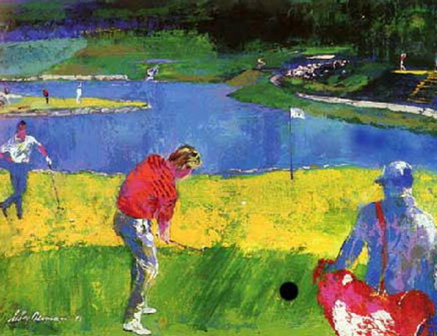 Mystic Rock 1996 Limited Edition Print by LeRoy Neiman