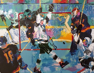Gretzky's Goal 1994 Limited Edition Print by LeRoy Neiman