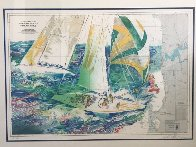 America's Cup Australia AP 1986 Limited Edition Print by LeRoy Neiman - 1