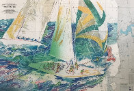 America's Cup Australia AP 1986 Limited Edition Print by LeRoy Neiman - 0