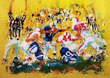 Touchdown 1973 Limited Edition Print - LeRoy Neiman