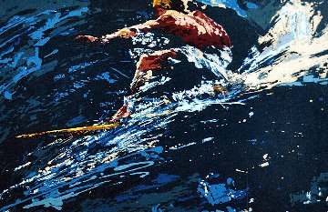 Surfer 1973 Limited Edition Print - LeRoy Neiman