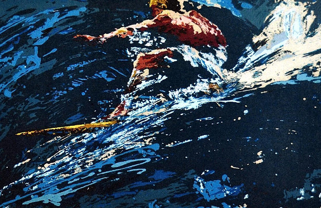 Surfer 1973 Limited Edition Print by LeRoy Neiman