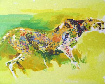 Cheetah 1997 Limited Edition Print by LeRoy Neiman