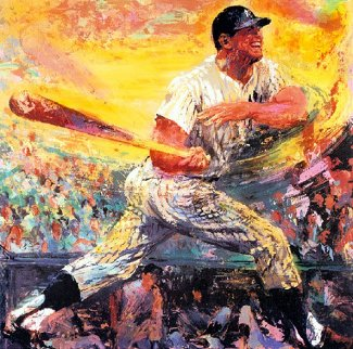 Mickey Mantle 1999 Limited Edition Print - LeRoy Neiman