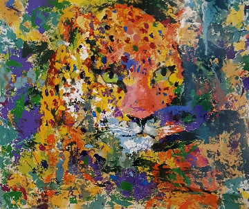 Portrait of the Leopard  1997 Limited Edition Print by LeRoy Neiman