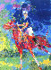 Prince Charles at Windsor 1982 Limited Edition Print by LeRoy Neiman - 0