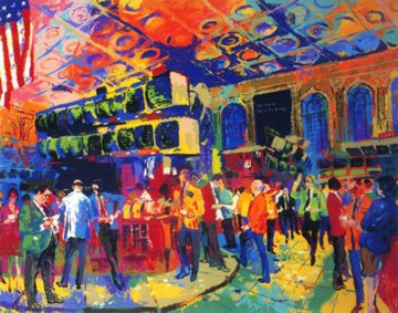 American Stock Exchange 1994 Limited Edition Print - LeRoy Neiman