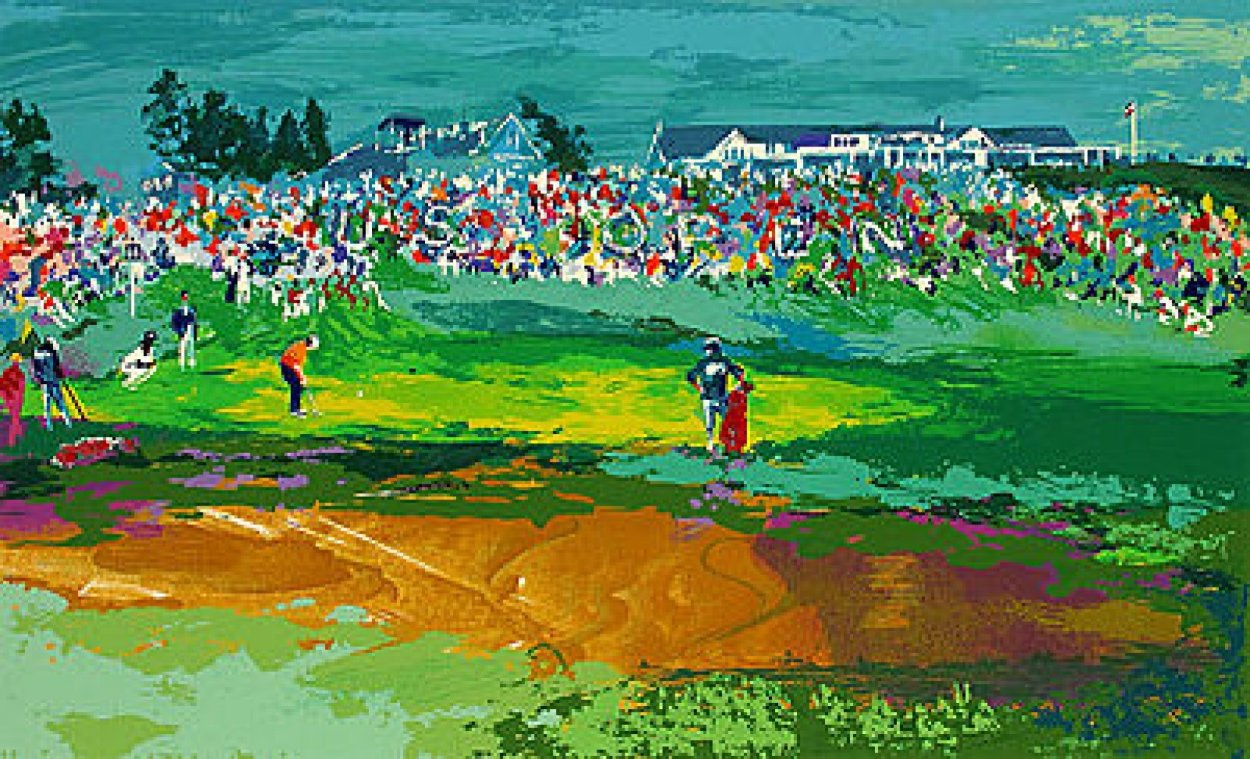 Home Hole At Shinnecock 1995 Limited Edition Print by LeRoy Neiman