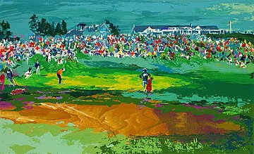 Home Hole At Shinnecock 1995 Limited Edition Print - LeRoy Neiman