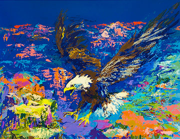 American Bald Eagle AP 1979 Limited Edition Print by LeRoy Neiman