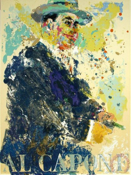 Al Capone 1972 Limited Edition Print by LeRoy Neiman