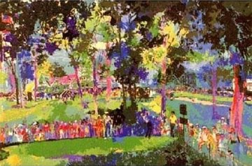 US Open 12th At Oakmont 1983 Limited Edition Print by LeRoy Neiman
