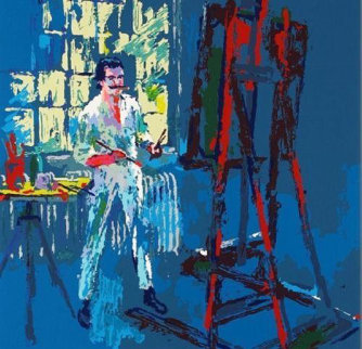 Self Portrait 1990 Limited Edition Print - LeRoy Neiman