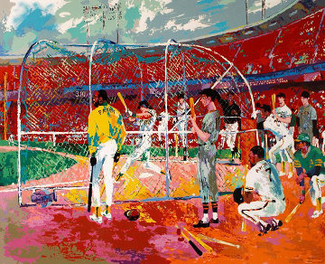 Bay Area Baseball 1990 Limited Edition Print - LeRoy Neiman