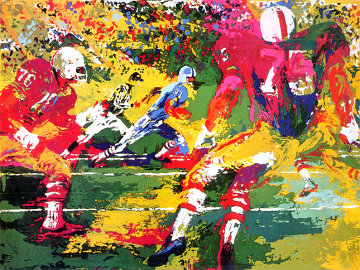 Scramble 1974 Limited Edition Print by LeRoy Neiman