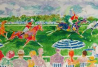 Polo Panorama 2005 Limited Edition Print by LeRoy Neiman - 0