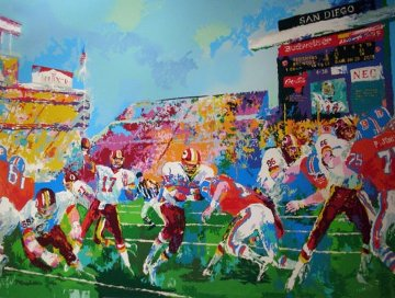 In the Pocket 1988 Limited Edition Print by LeRoy Neiman