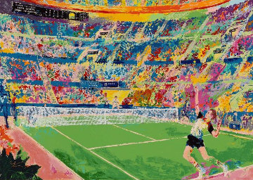 Volvo Masters 1983 Limited Edition Print - LeRoy Neiman