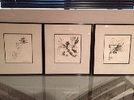 Ski Etchings, Set of Five  AP Limited Edition Print by LeRoy Neiman - 5