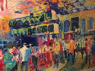 American Stock Exchange 1986 Limited Edition Print by LeRoy Neiman - 4