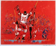Red Goal 1973 Limited Edition Print by LeRoy Neiman - 1