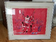 Red Goal 1973 Limited Edition Print by LeRoy Neiman - 2