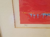 Red Goal 1973 Limited Edition Print by LeRoy Neiman - 4