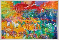 Circus 2001  Super Huge Limited Edition Print by LeRoy Neiman - 1