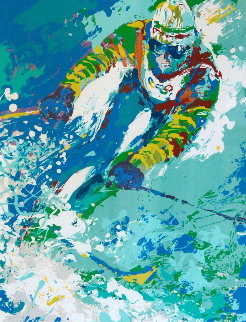 Olympic Skier 1980 Limited Edition Print by LeRoy Neiman