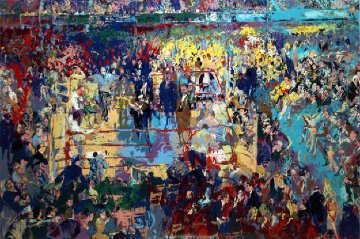 Introduction of the Champions At Madison Square Garden 1977 Limited Edition Print - LeRoy Neiman