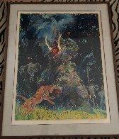 Shikar 1980 Limited Edition Print by LeRoy Neiman - 1