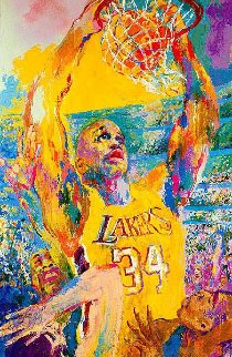 Shaq 2000 Limited Edition Print by LeRoy Neiman