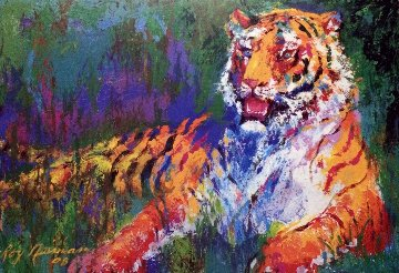 Resting Tiger 2008 Limited Edition Print by LeRoy Neiman