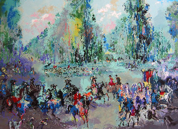Hunt Rendezvous (Homage to Oudry) 1992 Limited Edition Print by LeRoy Neiman