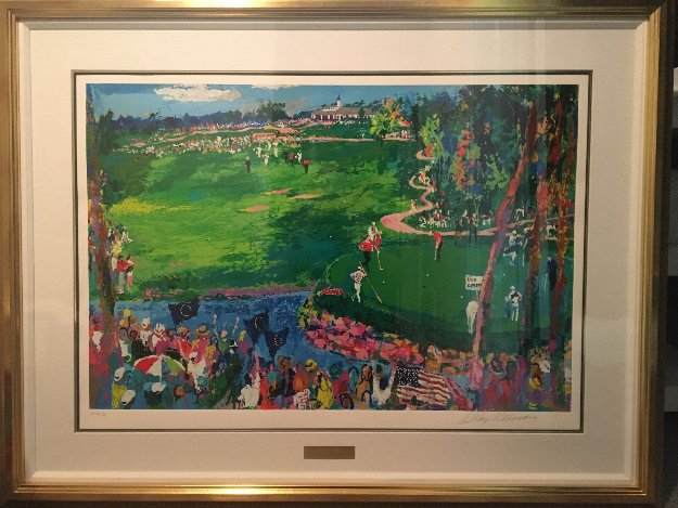 Ryder Cup - Valhalla 2007 Limited Edition Print by LeRoy Neiman