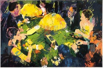 Chemin de Fer 1991 Limited Edition Print by LeRoy Neiman