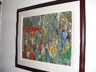 Before the Race 1981 Limited Edition Print by LeRoy Neiman - 2