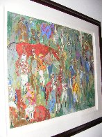 Before the Race 1981 Limited Edition Print by LeRoy Neiman - 3