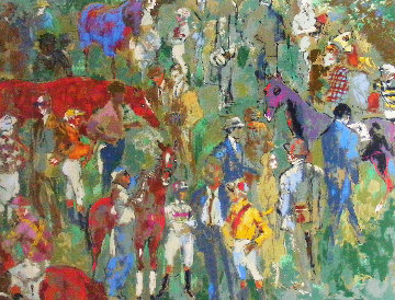 Before the Race 1981 Limited Edition Print by LeRoy Neiman