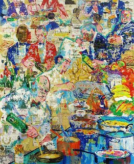 International Cuisine 1998  Limited Edition Print - LeRoy Neiman